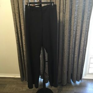Express Flare Columnist Pants with Button Detail